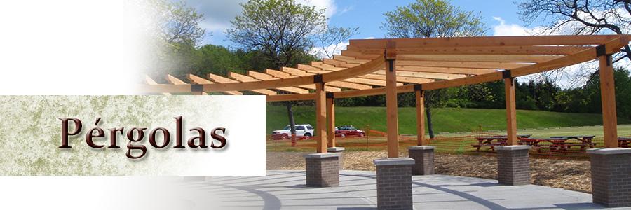 Dise o fabricaci n mantenimiento p rgolas de madera - Diseno de pergolas de madera ...